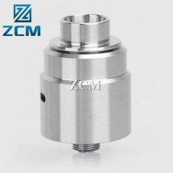 Boa qualidade rodando CNC personalizado usinada Metal Cigarro Eletrônico Dicas de pingos
