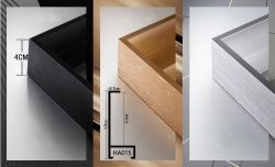 Individuelle Display Startseite Dekorieren Aluminium Foto / Bilderrahmen