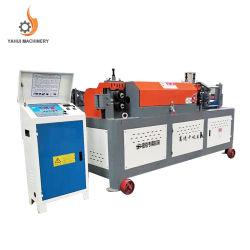 유압 자동 강철 와이어 CNC 강철 바 면 고르기 절단 기계