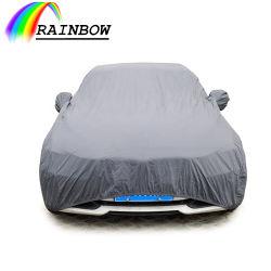 도매 방풍 방풍 방수 자외선 차단제 썬 보호 차량 커버 맞춤형 범용 PVC 코튼 프루프 자동차 커버 실외