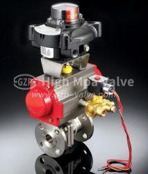 2 шт пневматического/электрический литой/формирование стальной шаровой клапан с плавающей запятой с фланцем FF, РЧ, Rtj