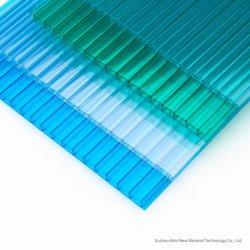 Hoja de hueco de policarbonato PC Sol junta con alta transparencia