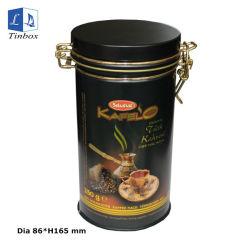 Boîte en métal forme ronde Café peut vider les boîtes de conserve