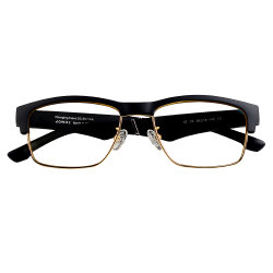 Gafas inteligentes personalizadas juegos de auriculares inalámbricos Bluetooth gafas de sol con luz Anti-Blue