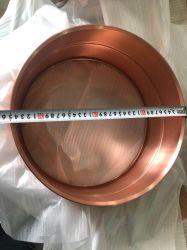 Kupfernes Trommel-Shell der Schlinge-14*6.5 mit Raupe, ohne gebohrt