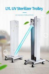 60W verwendete bewegliche mobile UVC keimtötende ultraviolette entkeimenUVC Innenlampe des licht-LED mit Rädern