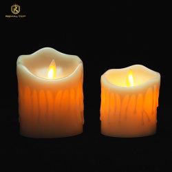 卸し売り電池動力を与えられた Flameless 電子 LED のワックスの蝋燭