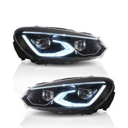 LED ヘッドライト車のヘッドライトアセンブリゴルフ VI 前部 GTI ヘッド フォルクスワーゲン VW ゴルフ 6 MK6 2008-2013 用ランプ