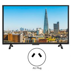 32 Zoll Großbild3000r kurvte Sprachsprachkünstliche Intelligenz Fernsehapparat-Mulit verdrahtete und drahtlose LED LCD HDTV