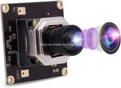 Módulo de câmara USB ELP 4K com focagem automática HD 3840X2160 30 fps Sony Câmara USB Imx415 sem distorção de 100 graus para 3D Câmara de RV do scanner