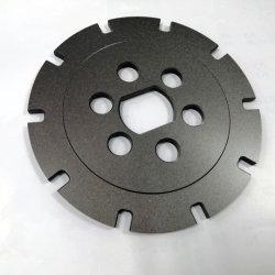 Hohe Präzision passte Aluminium 6061 stark anodisierenCNC an, der gedrehte Teile für Bremsen-Platten-Bauteile maschinell bearbeitet