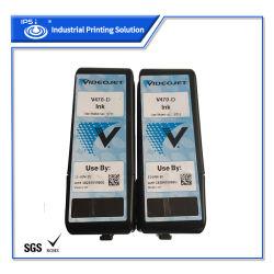 Videojet Cij Inkjet Coding Printer حبر أسود-أزرق V470-D Pigment أصلي مع شهادة SGS RoHS