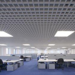 Il metallo 2020 ha sospeso il soffitto aperto di griglia del soffitto delle cellule dell'alluminio
