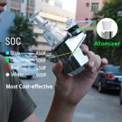Soc 피크 장비 Enail 장비 왁스 농축물 파편 전자 담배 건조한 나물 기화기 펜 Puffco 첨단 왁스 유리 관