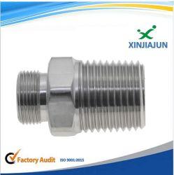 Tournage CNC usinage fraisage en acier inoxydable en laiton / tour de pièces en alliage aluminium / écrou de blocage, insérer l'écrou