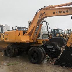 Utilisé Hyundai 130W/150W/ R215-7/R375/R210 Excavatrice à roues crawler//13 tonnes/ pelle Hyundai