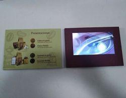 Libro dello schermo dell'affissione a cristalli liquidi video per la pubblicità dell'azienda