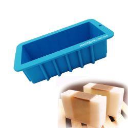 Commerce de gros Handmade DIY grand rectangle Silicone moule à pain de savon