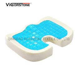 Nuevo producto directo de fábrica con gel de refrigeración del cojín del asiento de espuma de memoria con certificado CE