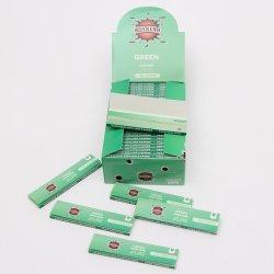 Semana Verde 55 folhas de papel de laminagem de fumar King Size