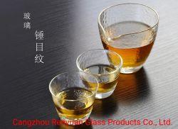 Verre borosilicaté élevé personnalisé tasse tasse de café tasse de jus de la bière tasse tasse de thé fleur