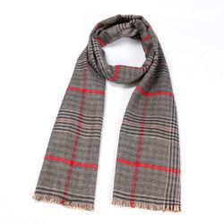 Bufanda Unisex de alta calidad Mens Womens imitación Cashmere personalizables con logo personalizado de algodón