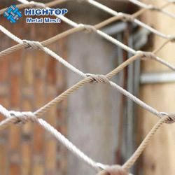 Het lichtgewicht Netwerk van de Kabel van de Draad van de Kabel van de Metalen kap van het Staal SS304 Ss316stainless