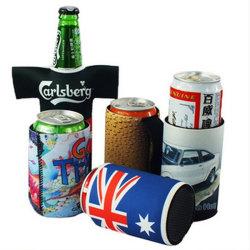 Suporte para garrafa pode com o logotipo personalizado Refrigerador Stubby isolados em neoprene Koozie garrafa de cerveja em neoprene grossista do arrefecedor pode beber Refrigerador Stubby Bebidas