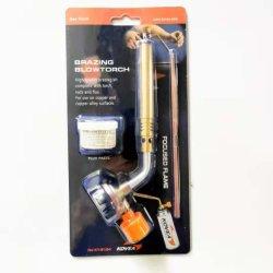 Kit de torche de brasage petit ensemble de la flamme à souder à gaz avec la tige de soudage et le flux de coller l'alimentation