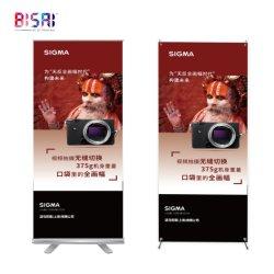 China Wholesale personalizar la publicidad exterior de PVC de promoción de la base de acrílico X soporte de cartón de Banner Roll up Expositor