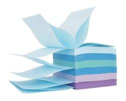 "Staples Stickies 3"" x 3"" Verschiedene Watercolor Pop-up-Notizen, 6/Packung mit 100= 600 Notizen-Pads"