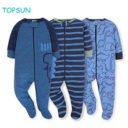 100%년 면은 아기의 3개 피스 세트 유아 옷을 입는다
