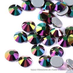 Commerce de gros Rhin Pierre colle forte de la Chine Hot Fix Strass cristal pour accessoires du vêtement