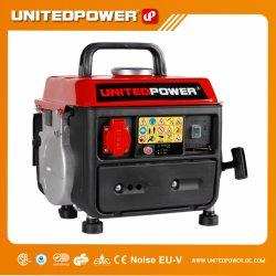 650W 800W 900W 1000W Portable petit générateur de gaz du moteur à essence avec deux accidents vasculaires cérébraux