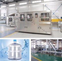 자동적인 5개 갤런 무기물 음료 물 배럴 채우는 포장 기계 식용수 병 채우게 장비 플랜트 세척 플랜트