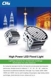 Proyección de luz LED de 250W para el campo de deportes con el precio de fábrica