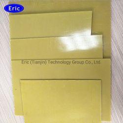 مادة العزل 3240 Fr4 ألياف ضوئية مصفحة مصنوعة من الألياف الزجاجية Epoxy ورقة