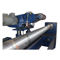 Tubo redondo de acero inoxidable de la superficie del tubo de Rectificadora automático
