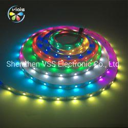 RGB Magische Flexibele LEIDENE van Ws2812b Vs17822 Strook 12V