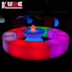 Event /partie / bar Le Mobilier lumière vers le haut LED meubles Ameublement en plastique