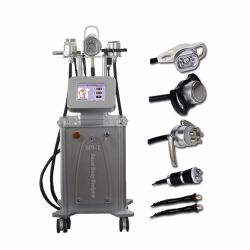 5 en 1 à l'arrêt 50kHz ultrasoniques de cavitation Machine vide RF Slimming Body Contouring la beauté de l'équipement