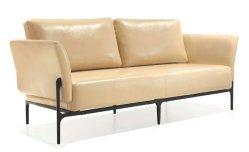 Sofá de tecido Lounge cadeira de couro Home Hotel mobiliário de escritório