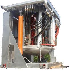 De 12 toneladas de 5 toneladas de horno de fundición de inducción de 30 toneladas horno eléctrico de arco de silicio Ladel Horno