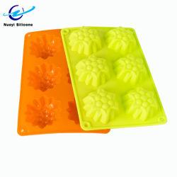 Torta di caramelle stampo di cioccolato silicone 6 Cube ghiaccio vassoio
