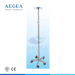 AG-Ivp004 Marcação e ISO Hospitalar Aprovado Quadro metálico IV Suporte