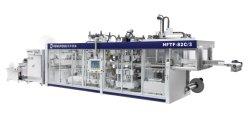 Hftf-78c Serie automatisches Thermoforming Maschinen-Produkt, das Öffnung und Closing Vorgang, führend, Schnitt bildet und stapeln ganz angetrieben durch Servomotor