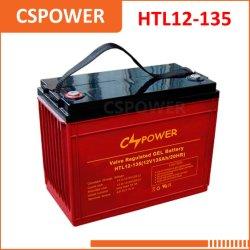 Cspower 12V 135ahの長い生命ゲル電池- UPSのコンピュータバックアップ