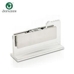Collier de serrage du matériel en acier inoxydable Frameless porte en verre de rotation du raccord de patch