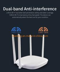 Smart WiFi6 1800Mbps Gigabit mesh sem fio WiFi Router6 com 4*6 dBi antenas externas