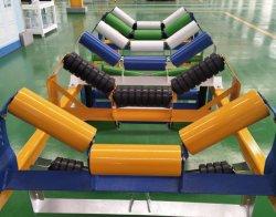 Resistente a alta temperatura padrão do Rolete Intermitente China Rolo Transportador de Correia do Cilindro do Transportador de rolos de aço, devolva o rolete da engrenagem intermediária para mineração